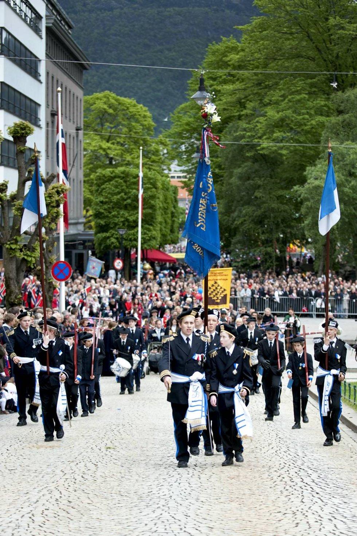 Sydnæs Bataljon - en av de tre s-ene i SSS-alliansen.  (Foto: Skjalg Ekeland)