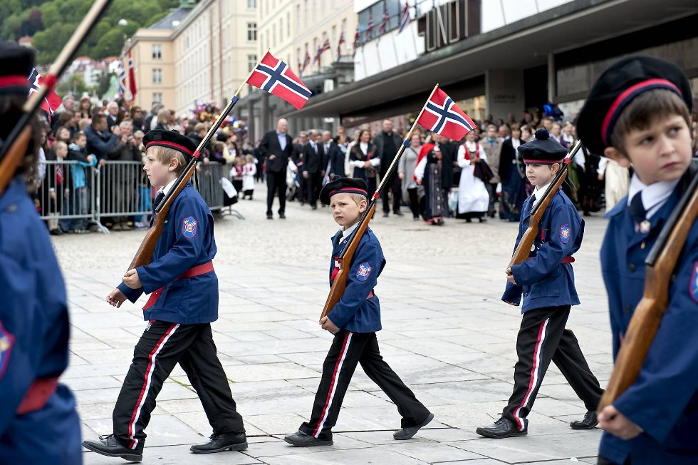 Mathismarkens Bataljon.  (Foto: Skjalg Ekeland)