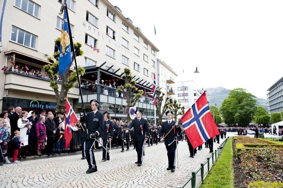 Nygaards Bataljon.  (Foto: Skjalg Ekeland)