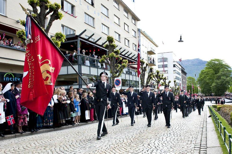 Nordnæs Bataillon.  (Foto: Skjalg Ekeland)