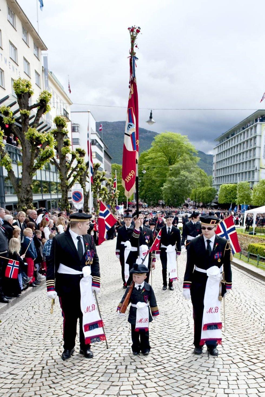 Markens Bataljon. Buekorpset i hjertet av byen.  (Foto: Skjalg Ekeland)