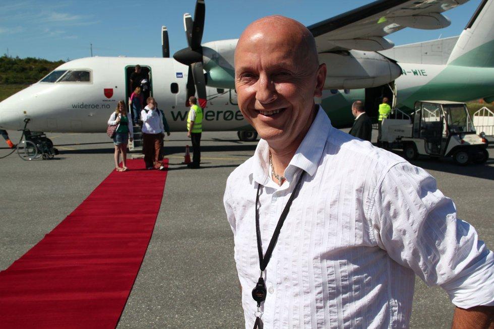 Lufthavnsjef Bjørn Ivar Blix. (Foto: Morten Hofstad)