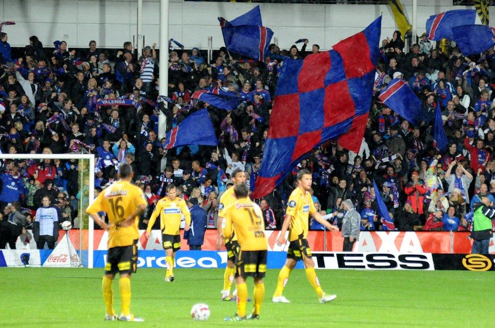 0-1: Vif har scoret. (Foto: Vidar Sandnes                   )