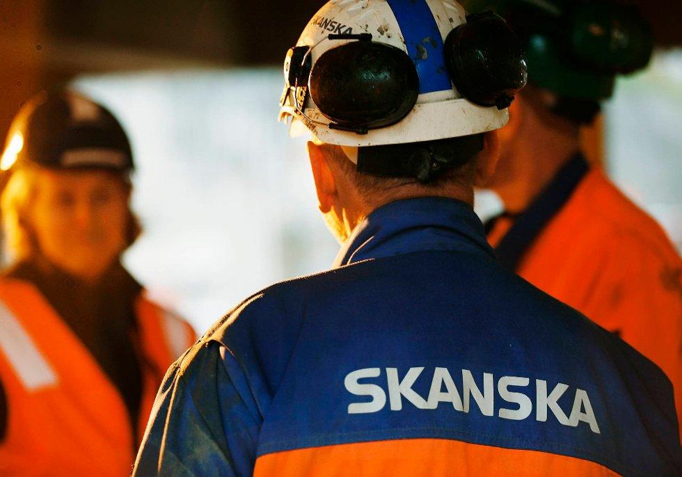Skanska har besluttet at aldersgrensen i konsernet skal endres til 70 år.  (Foto: Skanska/ANB)