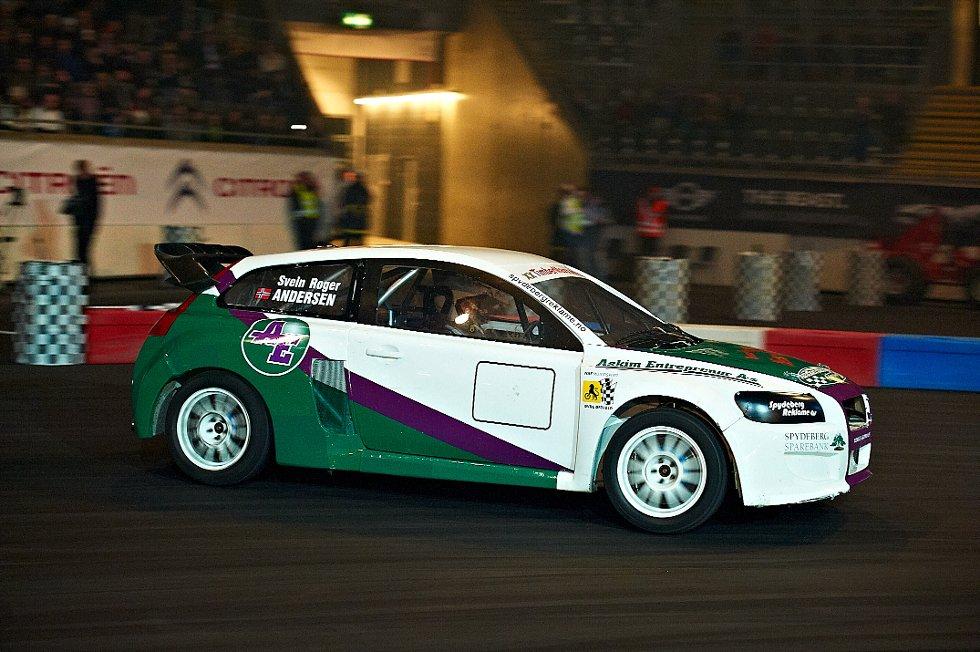 Svein Roger Andersen i Volvo C30 (Foto: )