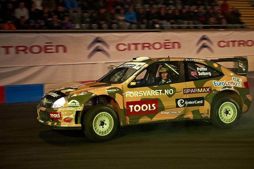 Petter Solberg i Citroen (Foto: )
