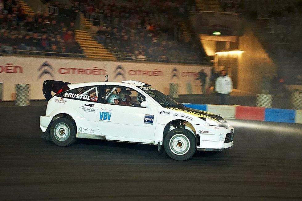 Svein Frustøl med Ford Focus (Foto: )