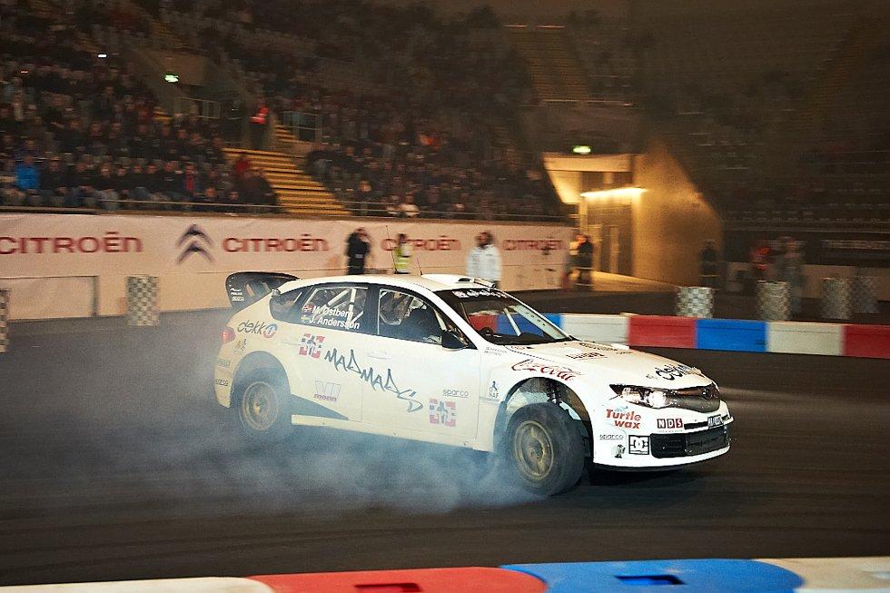 Mads Østberg i Subaru Impreza (Foto: )