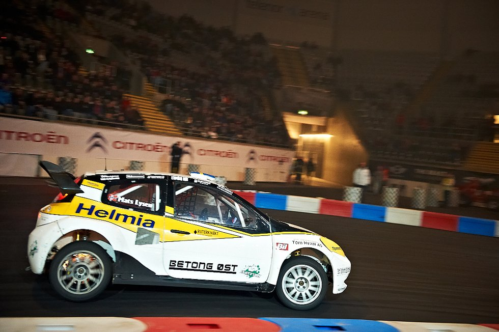 Mats Lysen i Renault Clio 3 (Foto: )