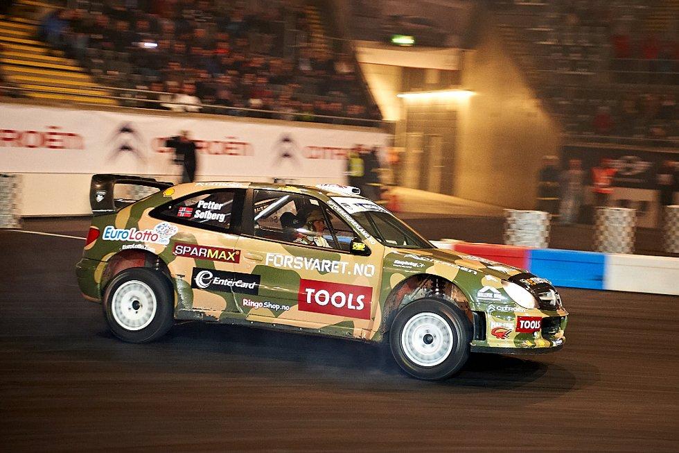 Petter Solberg i Citroen C4 (Foto: )