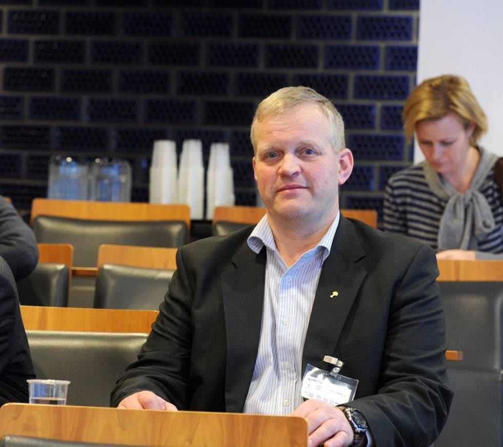 Bondelagsleder Nils T. Bjørke og etterlyser et taktskifte i norsk landbruk.