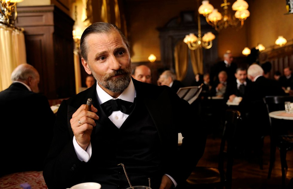 Slik ser Viggo Mortensen ut i rollen som Sigmund Freud i norgesaktuelle «A Dangerous Method».