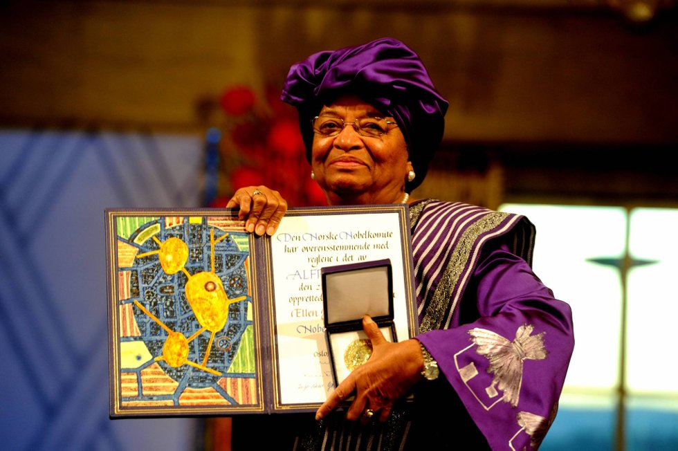 Ellen Johnson-Sirleaf. (Foto: Terje Pedersen, ANB)