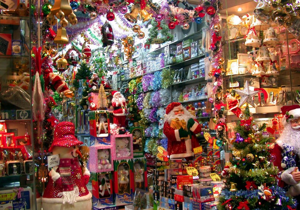 Mye av det vi bruker i forbuindelse med julen er laget i Kina.