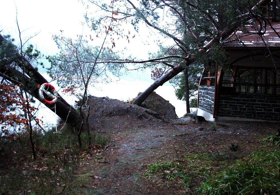 Også i Florø gjorde Dagmar seg godt gjeldende.  (Foto: Olav Hatlemark, Firdaposten/ANB)