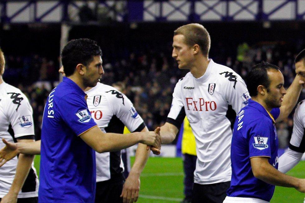 Brede Hangelands Fulham klarte ikke å slå Everton.