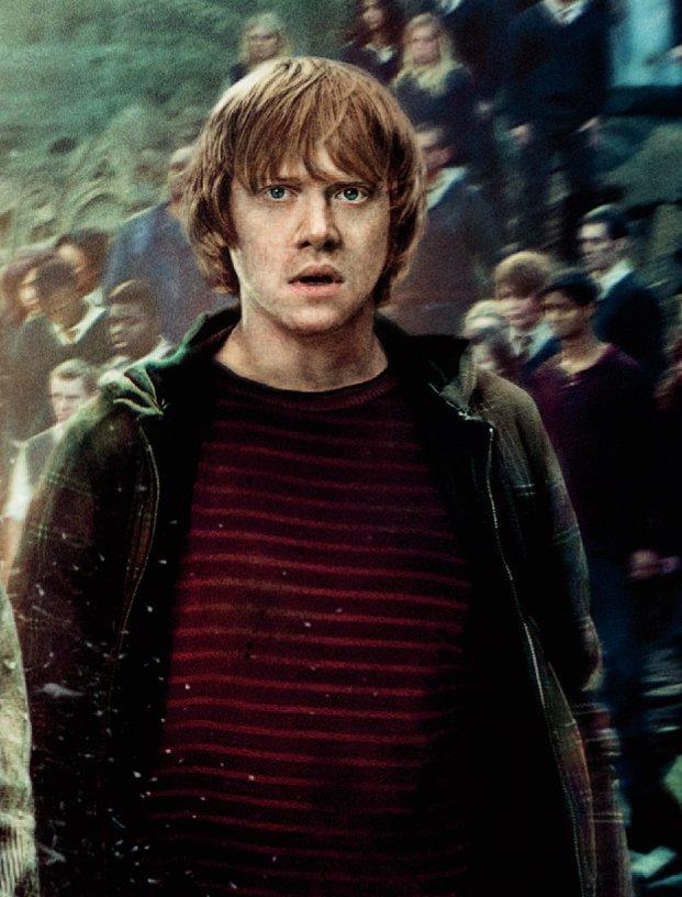 Mange kjenner Rupert Grint fra Harry Potter-filmene.
