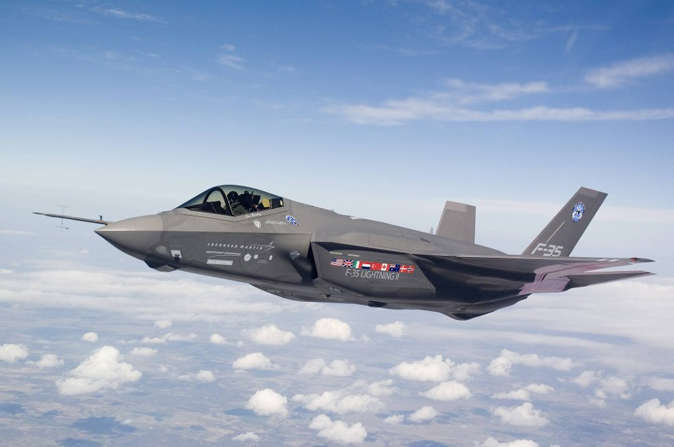 Joint Strike Fighter, F-35 jagerfly.