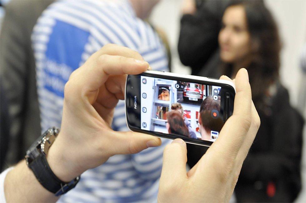 Nokia 808 PureView har kamera på 41 megapiksler.