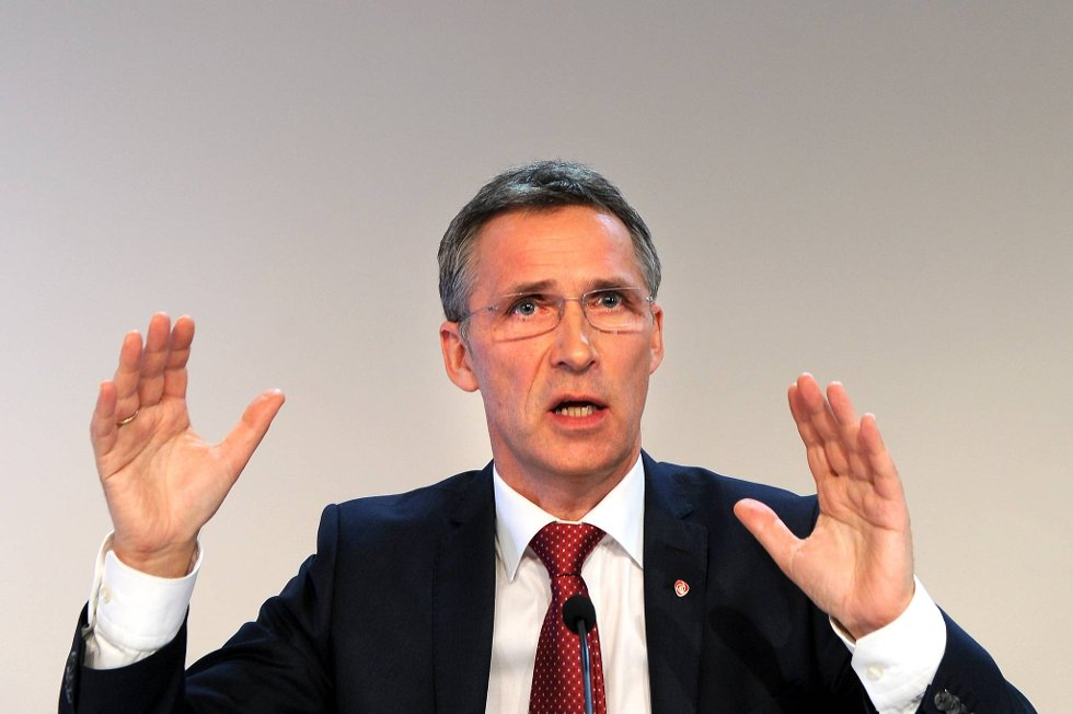Statsminister Jens Stoltenberg.