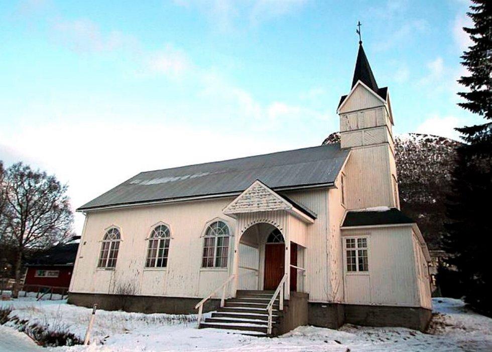 Metodistkirka i Sigerfjord skal bli boliger.