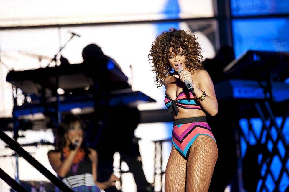 Rihanna hadde konsert på Koengen i Bergen i fjor høst. Nå sier stjernen at hun savner en kjæreste.