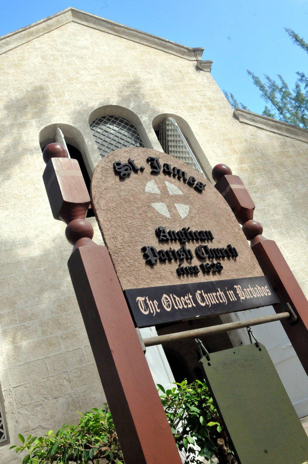 Barbados' eldste kirke kan også være verdt en tur for de interesserte.  (Foto: Terje Alstad, ANB)