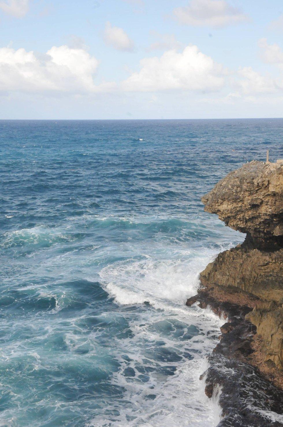Barbados er den østligste øya i Karibia. Det ligger akkurat utfor Orkanbeltet.  (Foto: Terje Alstad, ANB)