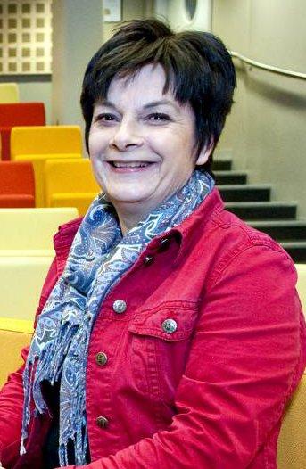 Avdelingsleder Merete Greve Løberg ved Bergen bibliotek sier de har økt vaktholdet den siste måneden.