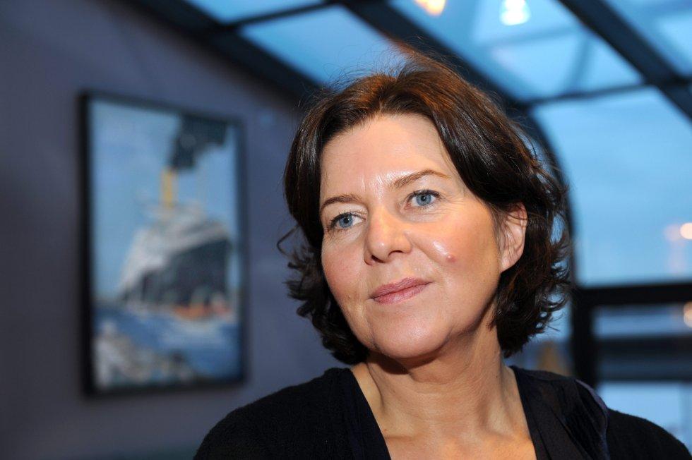 Hanne Bjurstrøm stanser oljestreiken.