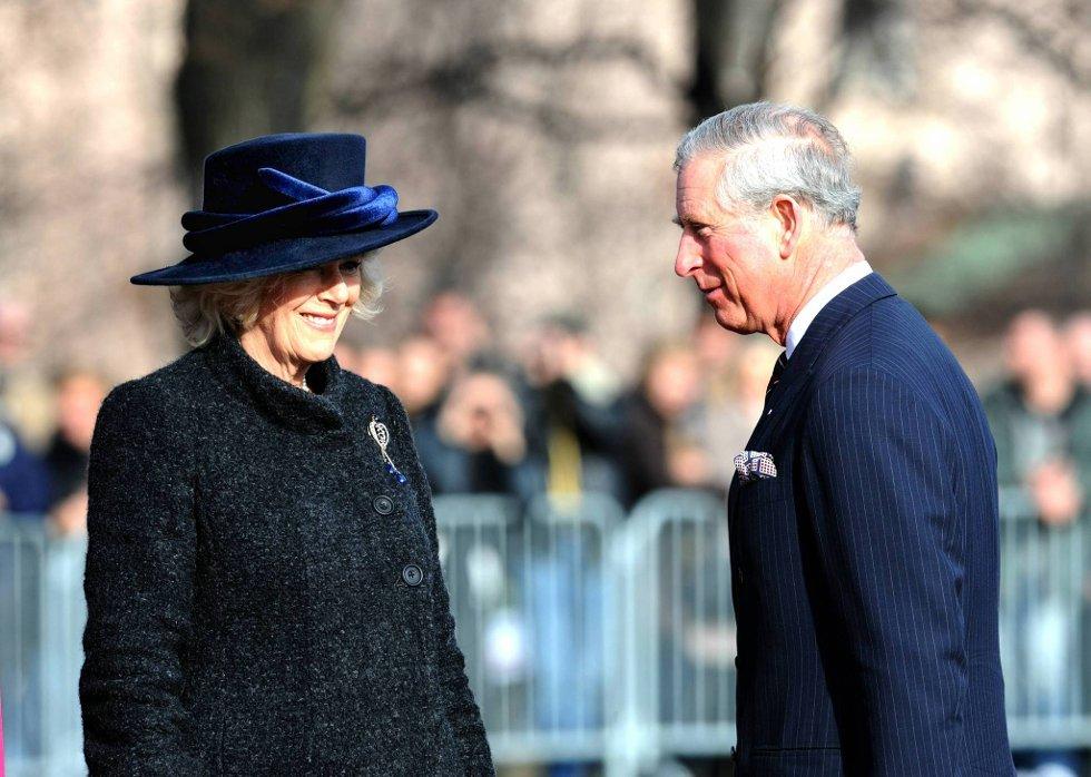 Camilla Parker Bowles og Prins Charles i Oslo.