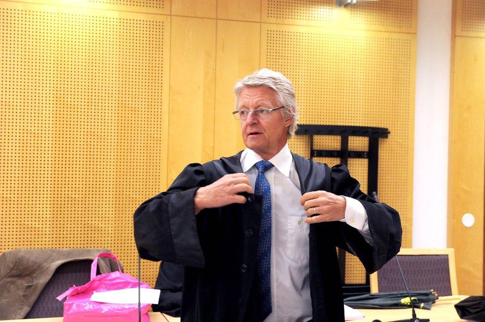 Advokat Harald Stabell er Bodhild Baaslands forsvarer.