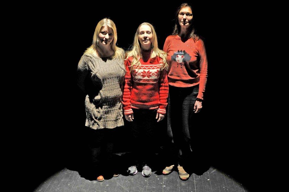 Spennende: Nordland Teater inviterer til en musikkforestilling om lyriker og forfatter Boyes unge år og hennes poesi med Hilde Stensland og Sissel Brean Hovind. Regissør er Kari Onstad. Foto: Øyvind Bratt