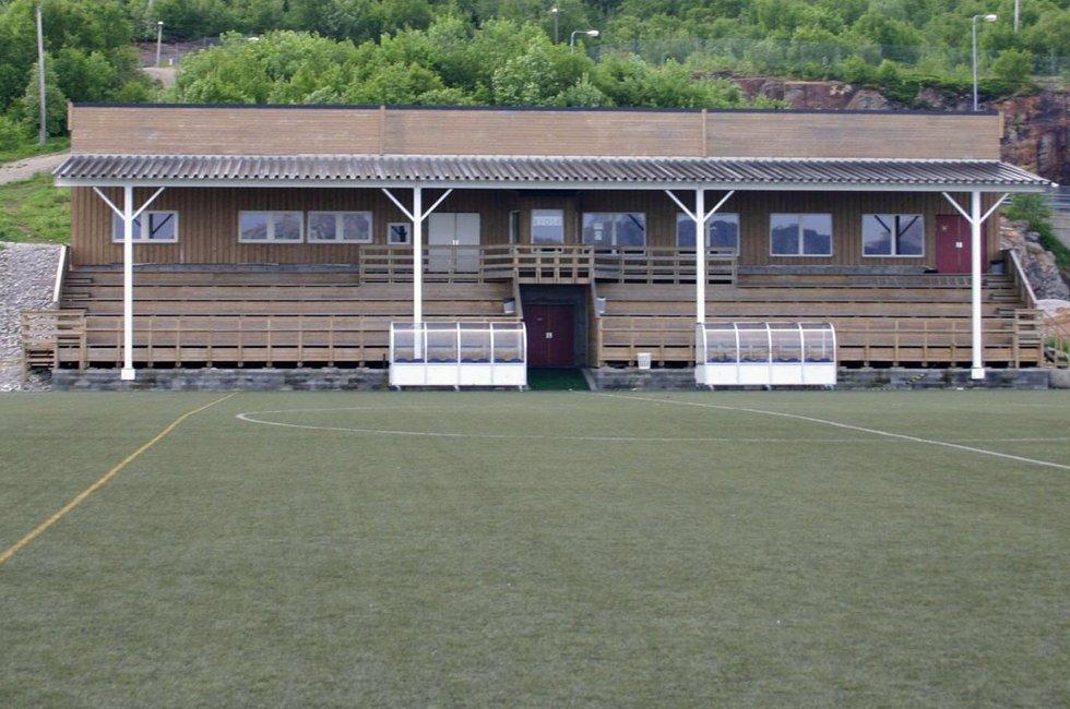 SILs klubbhus på Stamnes Arena.