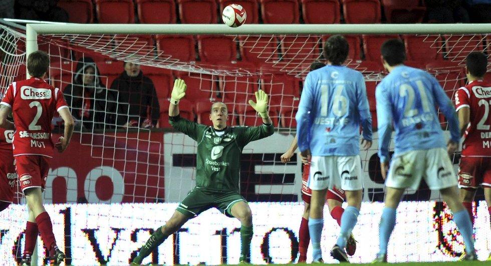 Brann-Sandnes Ulf 3-1.  (Foto: EIRIK HAGESTER)
