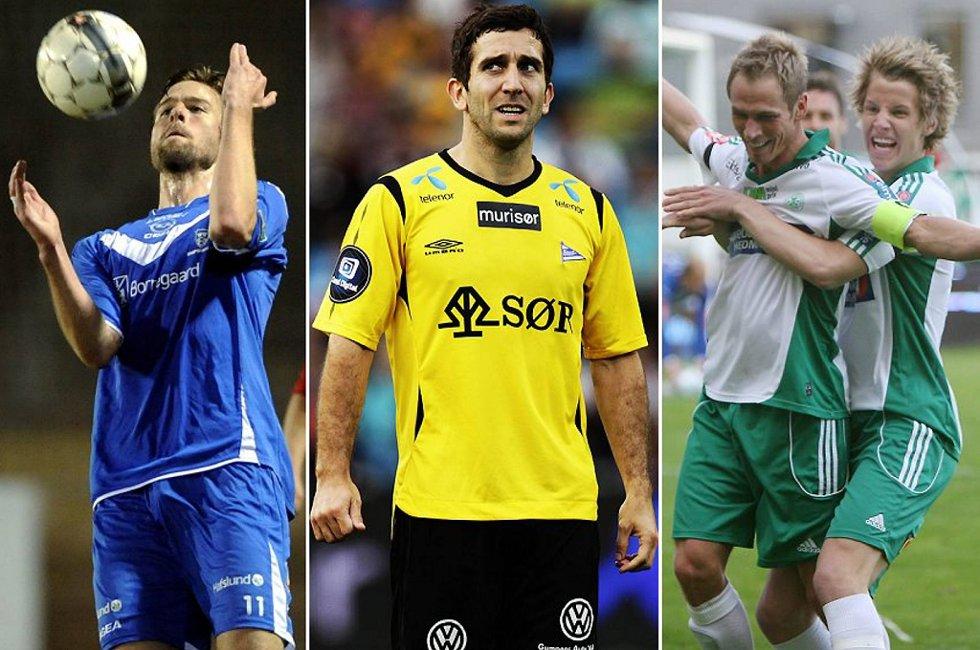 Øyvind Hoås, Espen Hoff og Thomas Lehne Olsen kan fort bli tre av 1. divisjons beste spillere i år.