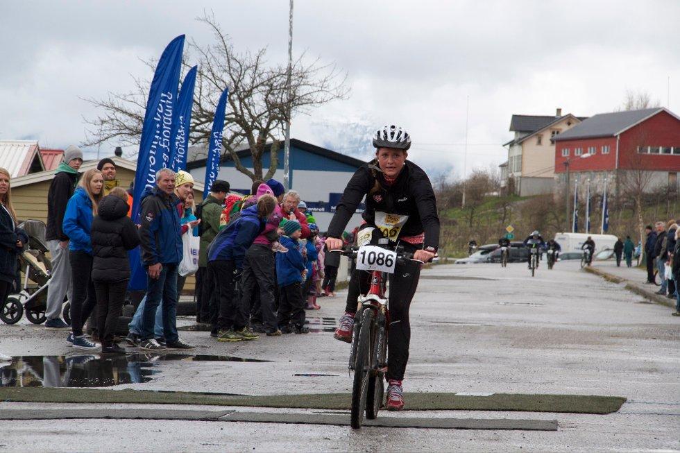 UNG: Bertine Thorsnes Lefdal vart Superkjering i debuten.