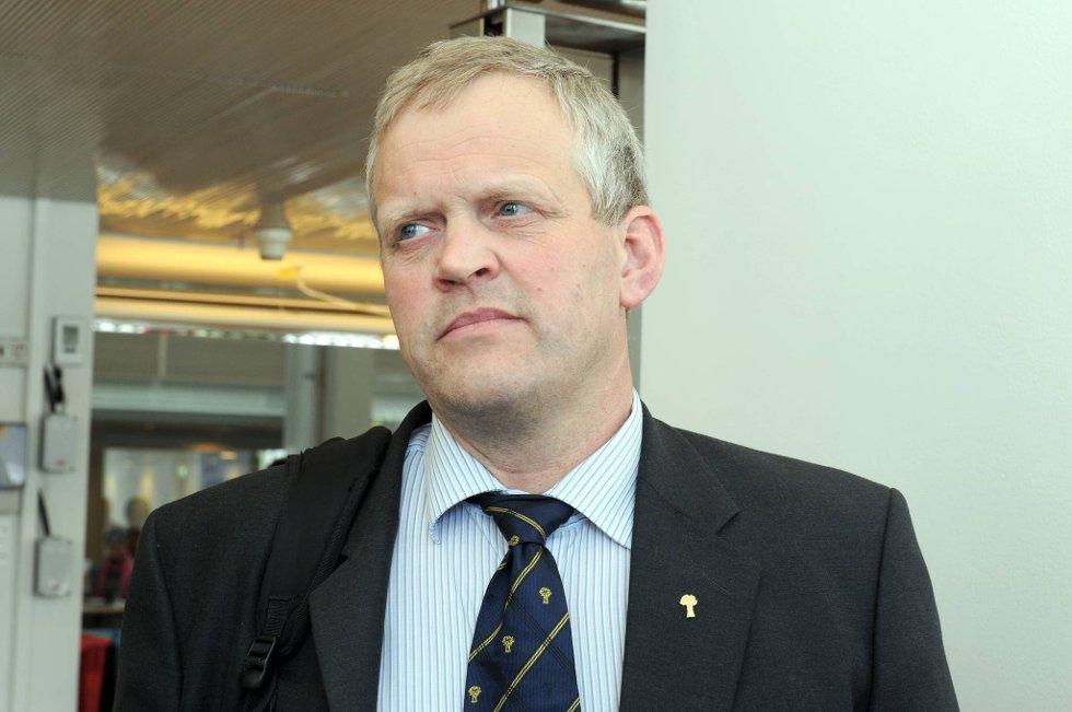 Nils T. Bjørke er leder i Bondelaget.