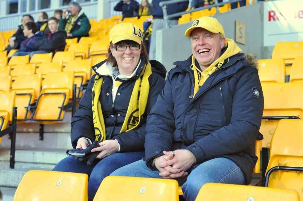 3-1: Gro og Wiggo Strøm Frydenlund har stor tro på seier i dag. (Foto: Vidar Sandnes                   )