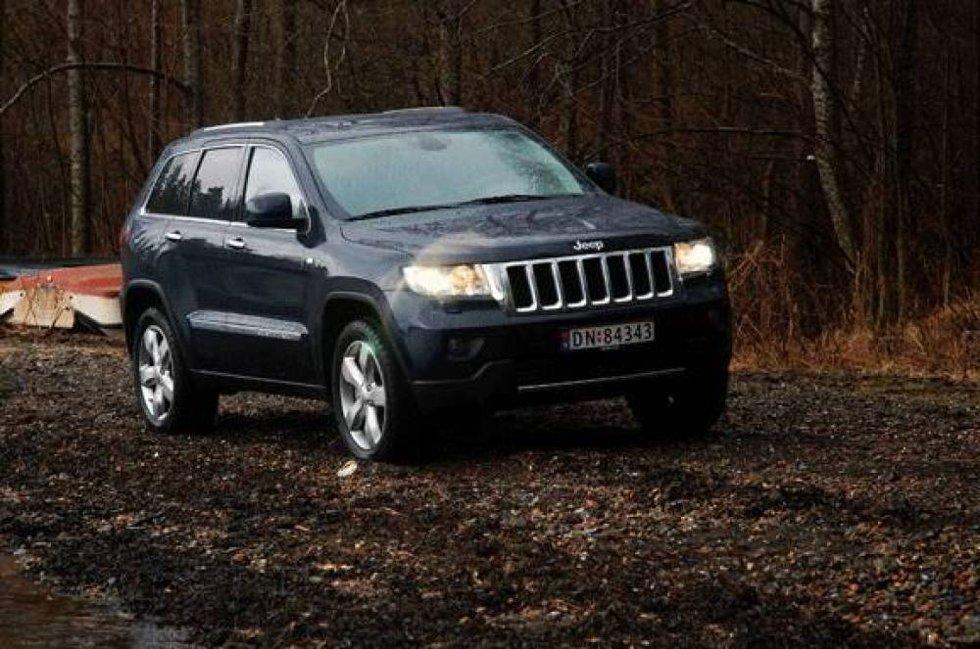 Jeep Grand Cherokee: Startprisen på over 850.000 kroner er frisk, men til gjengjeld får du en komplett og ferdig utstyrt bil med alt du trenger  og litt til  inkludert.