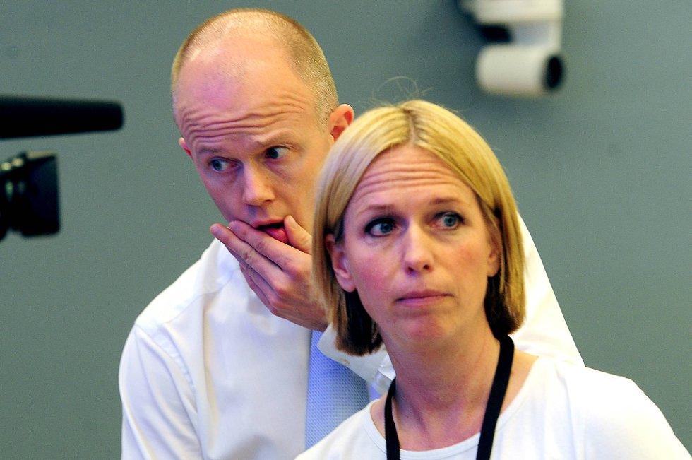 Statsadvokat Inga Bejer Engh og  statsadvokat Svein Holden.