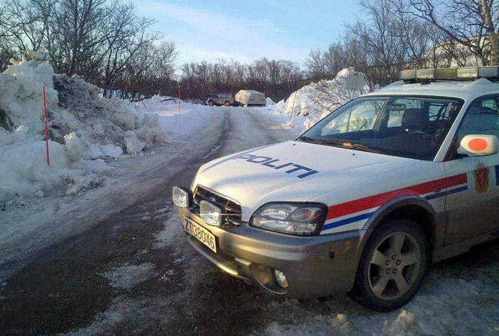 Politiet sikret området, men ungdommene kom seg unna.