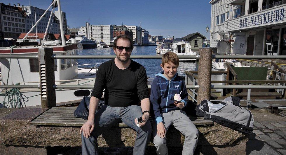 Finn Christian Larsen og Sivert Kleiven Larsen (11).