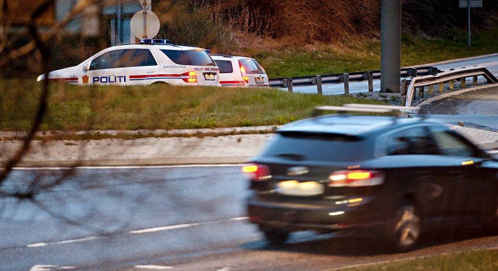 Politiet jaktet på tyvene i timevis, og Askøy-mannen sier han er fornøyd med at ordensmakten tok saken på alvor.