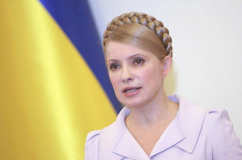 Ukrainas tidligere statsminister Julia Timosjenko sultestreiker.