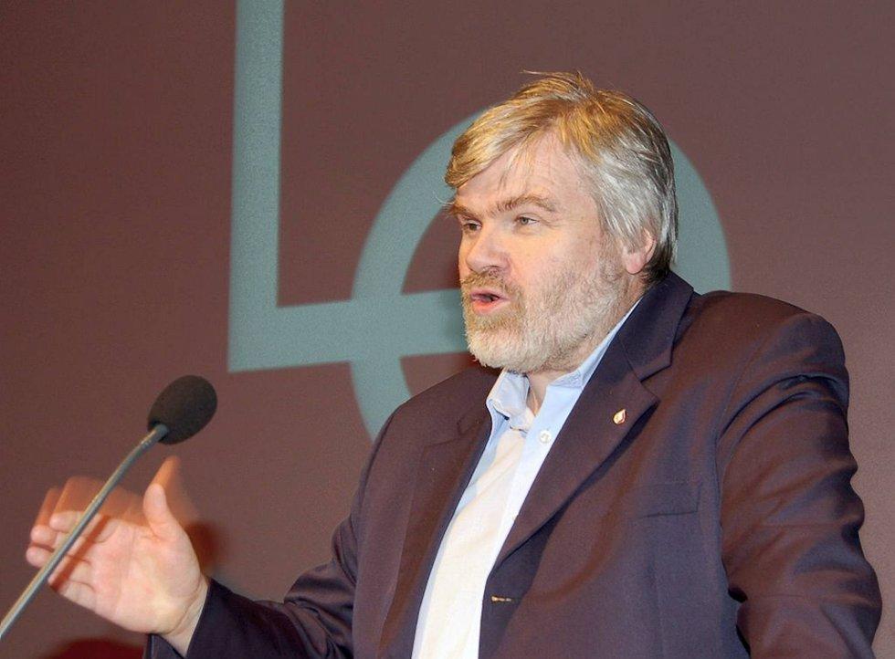 Forbundsleder Leif Sande i fagforeningen Industri Energi.