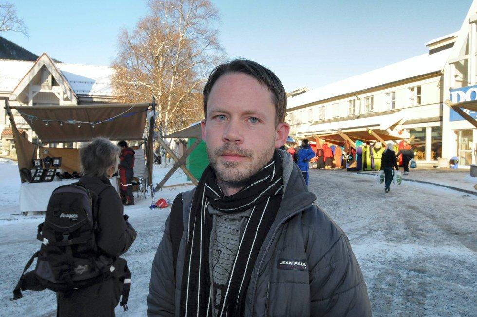 Blir synlige: Stig Jemterud Solberg mener en ambassade i Oslo vil gjøre at Valdres blir synlige og spennende.