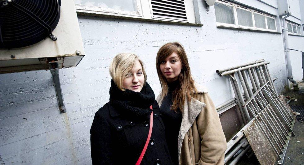 Maria Skranes og Marte Eberson i Machine Birds har spilt inn sin først EP med Njål Paulsberg fra Young Dreams og Put your hands up for Neo-Tokyo.