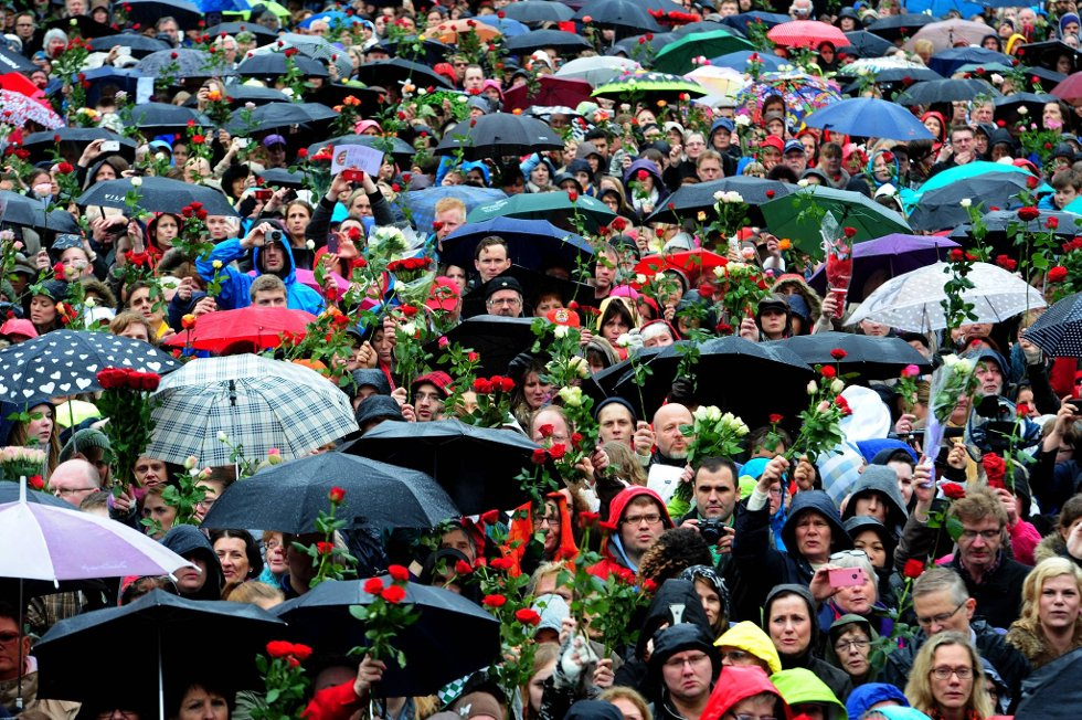 Rosetoget i Oslo torsdag vakte oppsikt verden rundt - men også sinte reaksjoner.