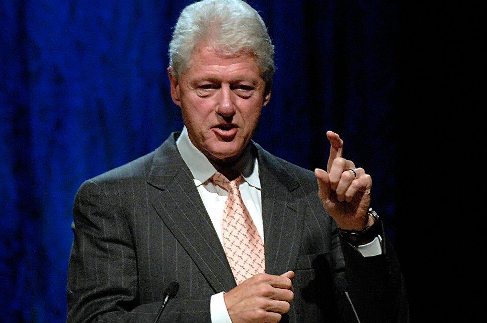 Bill Clinton har åpnet de olympiske leker.